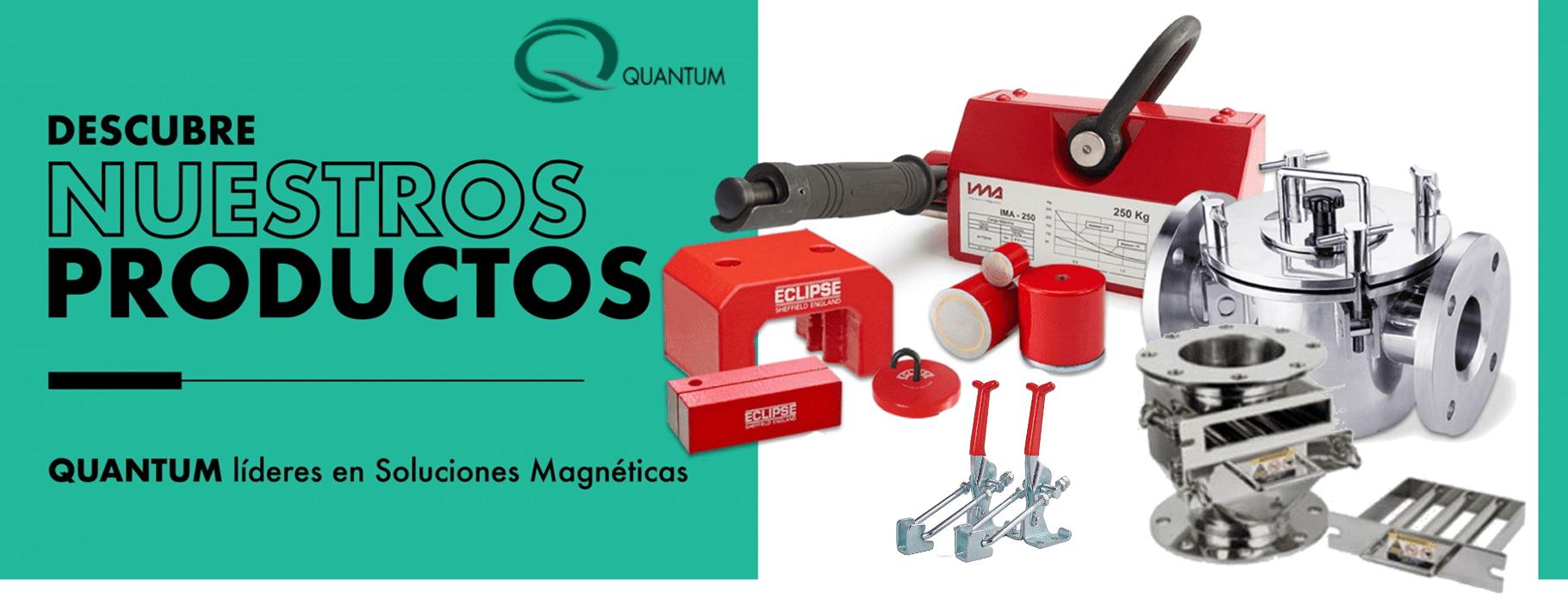 productos quantum Chile Soluciones magnéticas Imanes Quantum